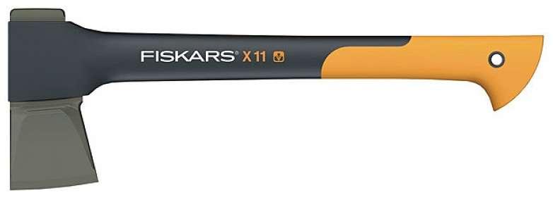 Sekera Fiskars X11 štípací, plastové pouzdro 122440