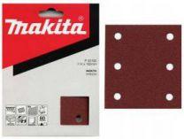 Brusný papír Makita P-33102, 114x102mm, suchý zip - hr.80 - 10ks