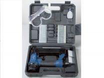 Pneumatická sponkovačka/hřebíkovačka Scheppach 2v1 - 8.3bar, 16-40mm, 1.2kg