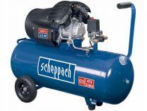 Olejový kompresor Scheppach HC 100 dc - 8bar, 412L/min, 100L