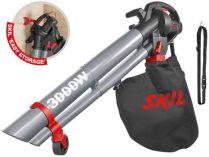 Zobrazit detail - Elektrický vysavač/ofukovač s příslušenstvím SKIL 0796 AA - 3.000W, 150-270km/h, 3.3kg