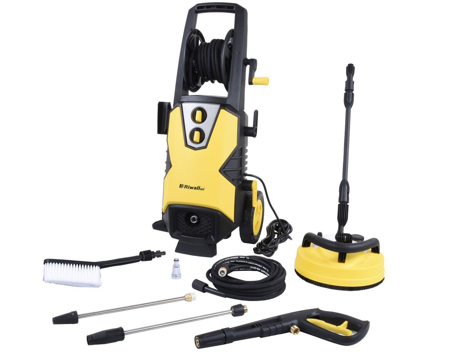 Vysokotlaký čistič Riwall REPW 170 SET - 2500W, 170bar, 468l/h, 22.4kg, kód: EP25A1501069B