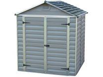 Palram Skylight 6x5 šedý - zahradní domek 163x187x214 cm