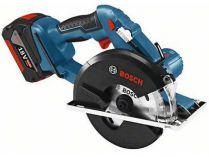 Bosch GKM 18 V-LI Professional - 18V, 136mm, 2.7kg, L-BOXX, bez aku, aku kotoučová pila