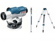 Bosch GOL 26 D Professional nivelační optický přístroj, kufr + stativ + měřicí lať