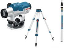 Bosch GOL 26 G Professional nivelační optický přístroj, kufr + stativ + měřicí lať