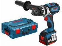 Bosch GSB 14,4 VE-EC Professional - 2x 14.4V/4.0Ah, 70Nm, 2 rychl., 2.2kg, kufr, aku vrtačka s příkl.