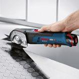 Bosch GUS 12V-300 Professional - 12V, 11mm, aku univerzální nůžky, bez akumulátoru a nabíječky (06019B2901) Bosch PROFI