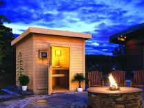 Venkovní finská sauna - Saunový domek Karibu Kroge - 38 mm