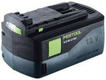Akumulátor Festool BP 18 Li 5,2 AS AIRSTREAM - 18V/5.2Ah Li-ion