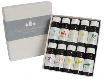 Aroma esence Hanscraft kolekce 1 do sauny, infrasauny, aromalampy a odpařovačů (10x mix esenciálních vonných olejů 10ml, lékovka s kapátkem) 176171