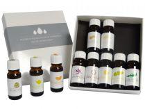 Aroma esence Hanscraft kolekce 2 (10x mix esenciálních vonných olejů 10ml)
