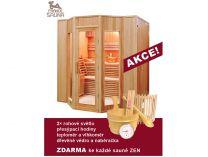 Finská sauna pro 5 osob Hanscraft Zen 5 + Doprava a dárek ZDARMA
