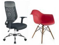 Židle a barové židle, Kancelářská křesla