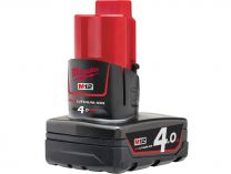 Akumulátor Milwaukee M12B4 - 12V/4.0Ah REDLITHIUM-ION™