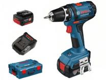 Zobrazit detail - Bosch GSR 14,4-2-LI Plus Professional, 2x aku 14.4V/4Ah, kufr L-BOXX, aku vrtačka bez příklepu