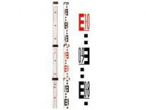 CST/berger 06-805M nivelační lať 5dílná, délka 5m