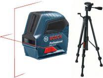 Křížový laser Bosch GLL 2-10 Professional křížový laser + stativ BT 150