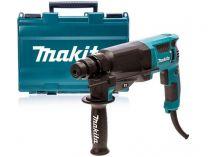 Vrtací a sekací kladivo Makita HR2630 - SDS-Plus, 800W, 2.4J, 2.8kg, v kufru