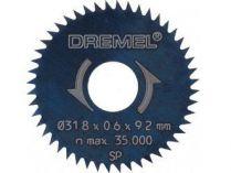 2ks Pilový řezací kotouček Dremel 546 - 48 zubů