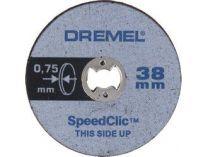 5ks SpeedClic - řezný kotouček extra tenký Dremel SC409