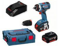 Bosch GSR 14,4 V-EC FC2 Professional - 2x 14.4/4.0Ah, 46Nm, kufr, bezuhl. aku vrtačka bez příklepu
