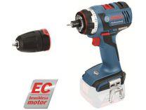Bosch GSR 14,4 V-EC FC2 Professional - 14.4V, 46Nm, kufr, bez aku, bezuhl. aku vrtačka bez příklepu