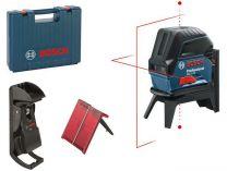 Bosch GCL 2-15 Professional křížový laser + kufr + RM 1 + BM 3 + 3x aku AA