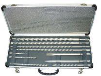 Makita D-19174, 10 dílná sada vrtáků a sekáčů do kladiv SDS-Plus