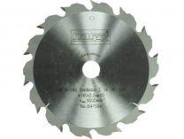 Zobrazit detail - Pilový kotouč Narex HW 160x2,5x20mm 14TR Gladiator, 14 zubů na cetris, dřevo s hřebíky a betonem
