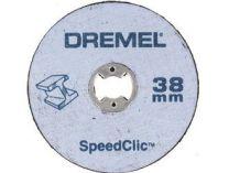 SpeedClic sada Dremel SC406 -1 ks upínací trn + 2 ks řezný kotouček na kov