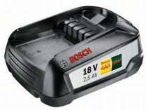 Akumulátor Bosch PBA 18 V 2,5 Ah W-B - 18V/2.5Ah Li-ion HOBBY