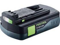 Akumulátor Festool BP 18 Li 3,1 C - 18V/3.1Ah Li-ion, 0.4kg