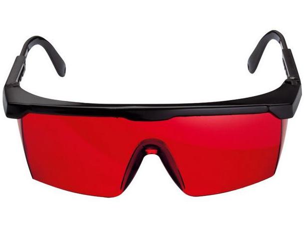 Brýle pro laserové přístroje Bosch pro lepší viditelnost červeného laserového paprsku Bosch příslušenství