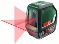 Křížový laser Bosch PLL 2 - 10m, 640nm, 0.37kg