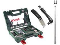 68 dílná sada příslušenství Bosch (vrtáky, bity, držáky bitů, nůž, magn. ...