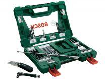 68 dílná sada příslušenství Bosch (vrtáky, bity, držáky bitů, nůž, magn. teleskop. atd.) 2607017191 Bosch příslušenství
