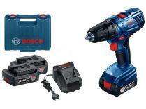 Bosch GSR 140-Li Professional - 2x 14.4V/1.5Ah, 50Nm, 2 rychl., 1.5kg, kufr, aku vrtačka bez příklepu