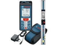Bosch GLM 80 Professional + lišta R60, Profi laserový měřič vzdálenosti - dálkoměr