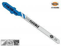 Pilový list Hawera T 118 EOF, BIM-Flexible na tenké plechy - 5 ks (265130), pilový plátek do kmitací pily