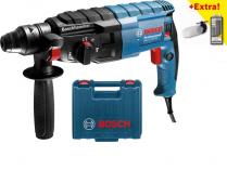 Kombinované kladivo Bosch GBH 2-24 DRE Professional - 790W, 2.9kg, kufr, pneumatické kladivo + dárek