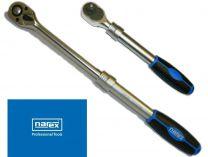 """Přepínací ráčna Narex 1/2"""" s vyhazovačem, 72 poloh, teleskopická (443002205)"""