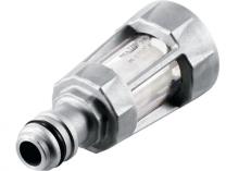 Vodní filtr kovový Bosch F016800419 - Odolný ochranný filtr a přípojky hadice push fit.