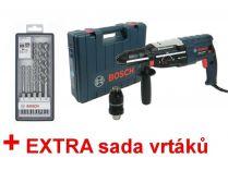 Kombinované kladivo Bosch GBH 2-28 F Professional - 880W, 3.2J, 3.1kg, kufr + dárek