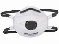 Respirátor Kreator KRTS1003V - vysoká ochrana FFP3, výdechový ventil, 2ks
