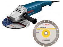 Úhlová bruska Bosch GWS 20-230 JH Professional 230mm, 2000W + dárek