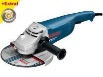 Úhlová bruska Bosch GWS 22-230 JH Professional - 2.200W, 230mm, 5.2kg + dárek
