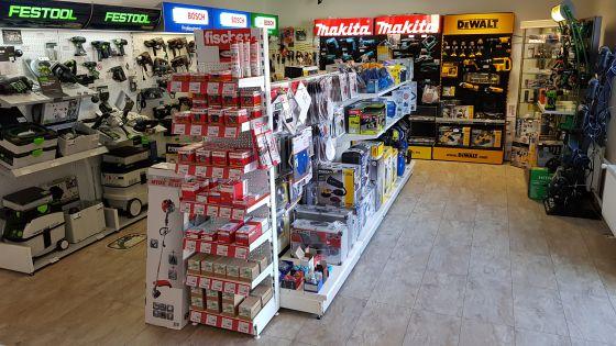 Vnitřní prostory prodejny